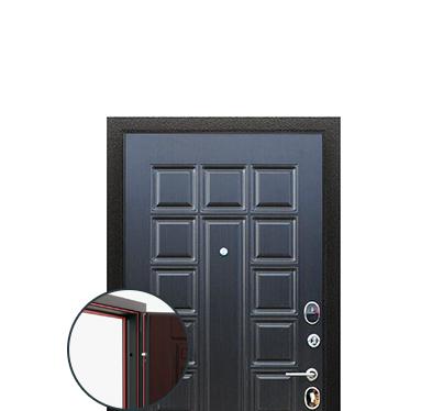 Трехконтурные двери